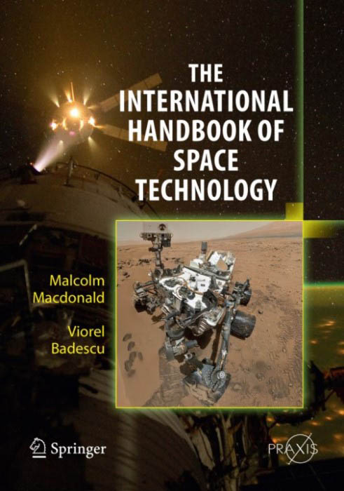Front cover of The International Handbook of Space Technology